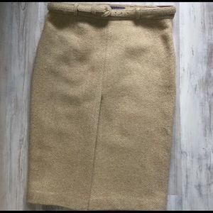 Ralph Lauren Purple Label cashmere skirt